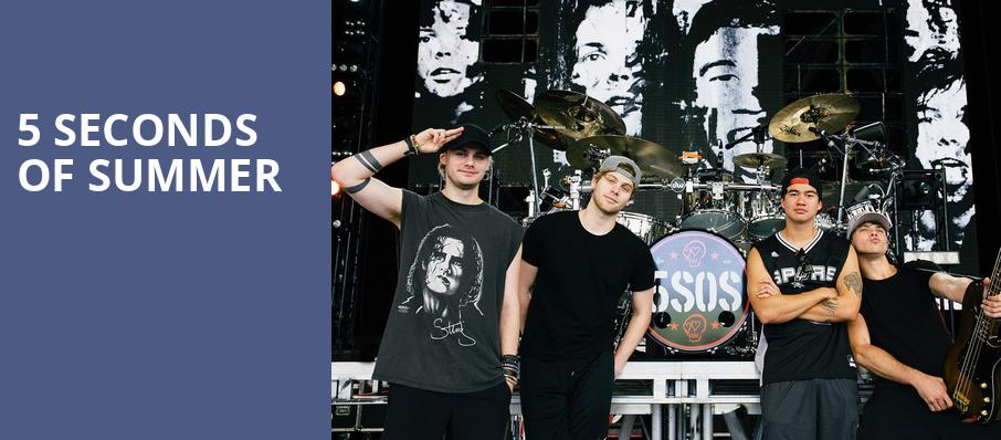 5 Seconds of Summer, Budweiser Stage, Toronto