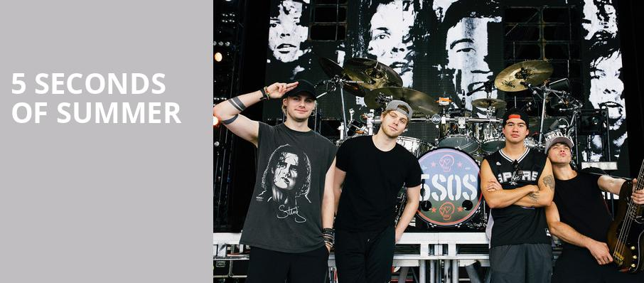 5 Seconds of Summer, TD Echo Beach at Molson Canadian Amphitheatre, Toronto