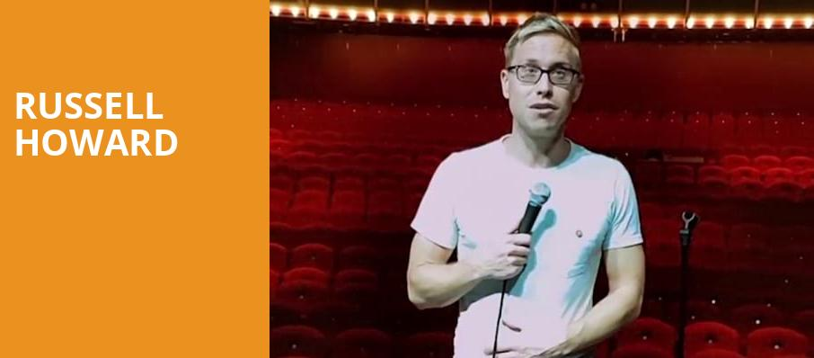 Russell Howard, Danforth Music Hall, Toronto