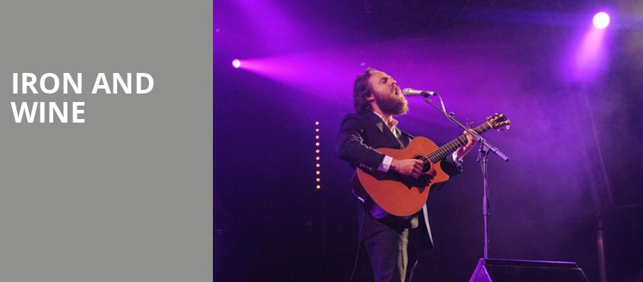 Iron and Wine, Queen Elizabeth Theatre, Toronto
