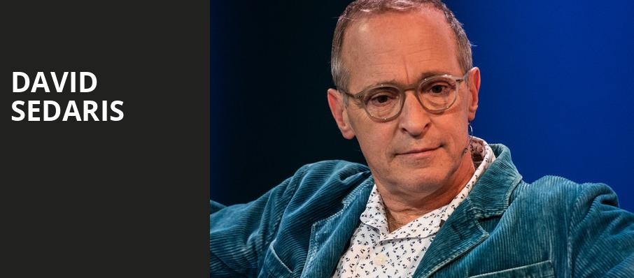 David Sedaris, Sony Centre for the Performing Arts, Toronto