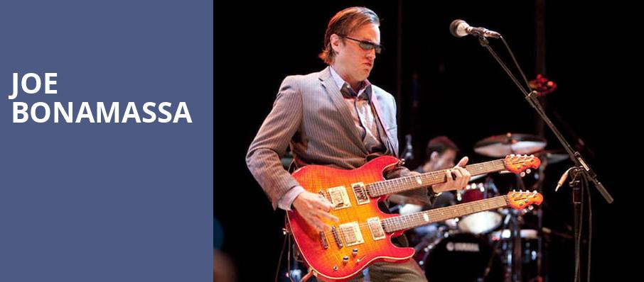 Joe Bonamassa, Sony Centre for the Performing Arts, Toronto