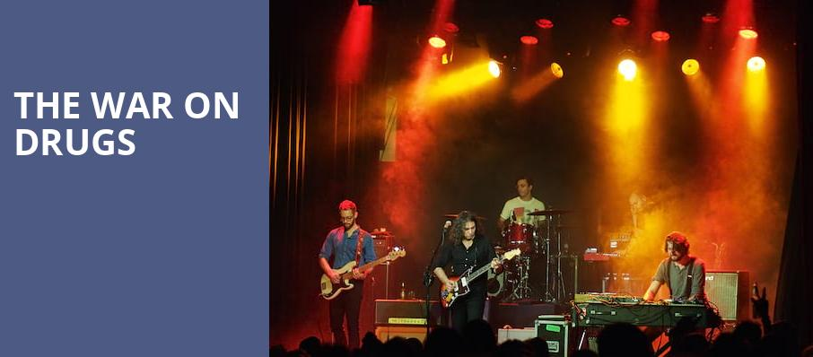 The War On Drugs, Massey Hall, Toronto