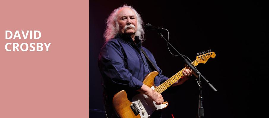 David Crosby, Danforth Music Hall, Toronto
