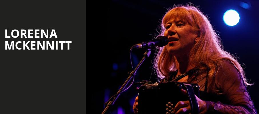 Loreena McKennitt, Roy Thomson Hall, Toronto