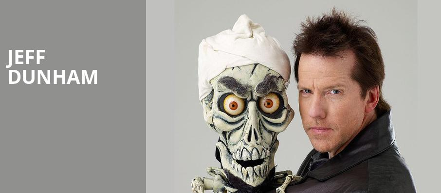 Jeff Dunham, General Motors Centre, Toronto