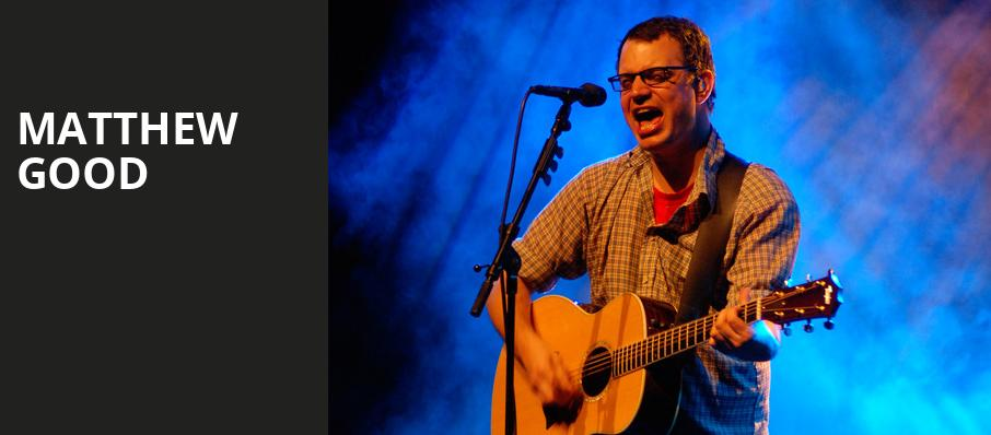 Matthew Good, Rose Theatre, Toronto
