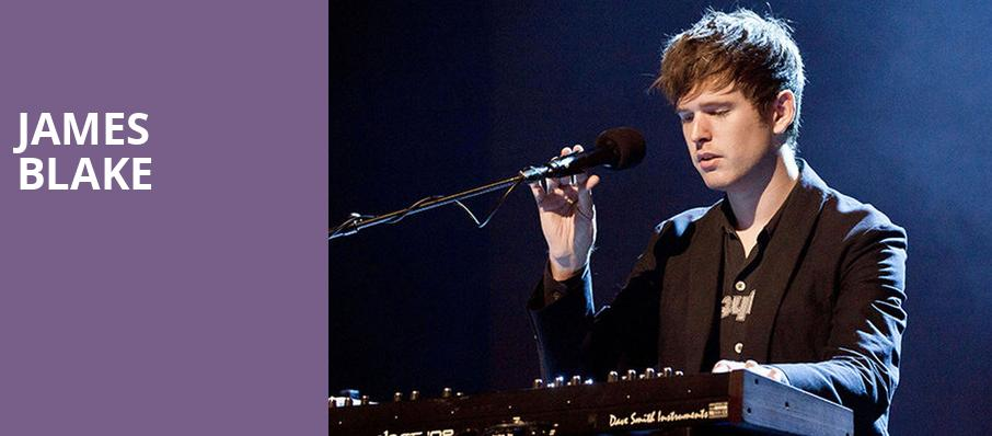 James Blake, Sony Centre for the Performing Arts, Toronto
