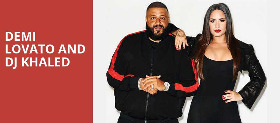 Demi Lovato and DJ Khaled, Air Canada Centre, Toronto