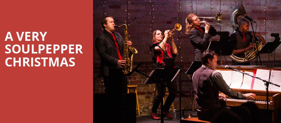 A Very Soulpepper Christmas, Baillie Theatre Stage, Toronto