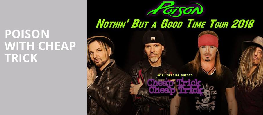 Poison with Cheap Trick, Budweiser Stage, Toronto