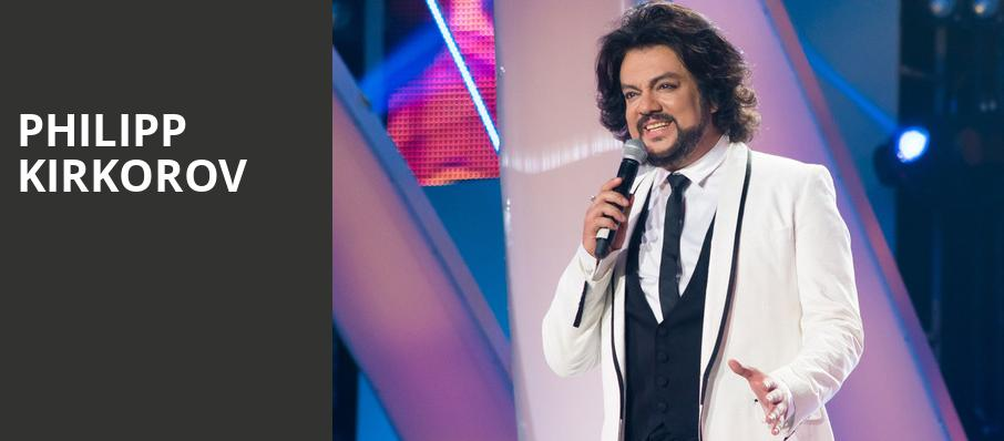 Philipp Kirkorov, Sony Centre for the Performing Arts, Toronto
