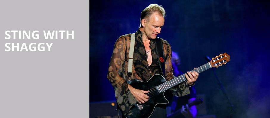 Sting with Shaggy, Phoenix Concert Theatre, Toronto