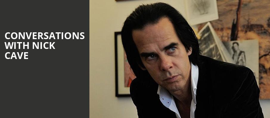 Conversations with Nick Cave, Convocation Hall, Toronto