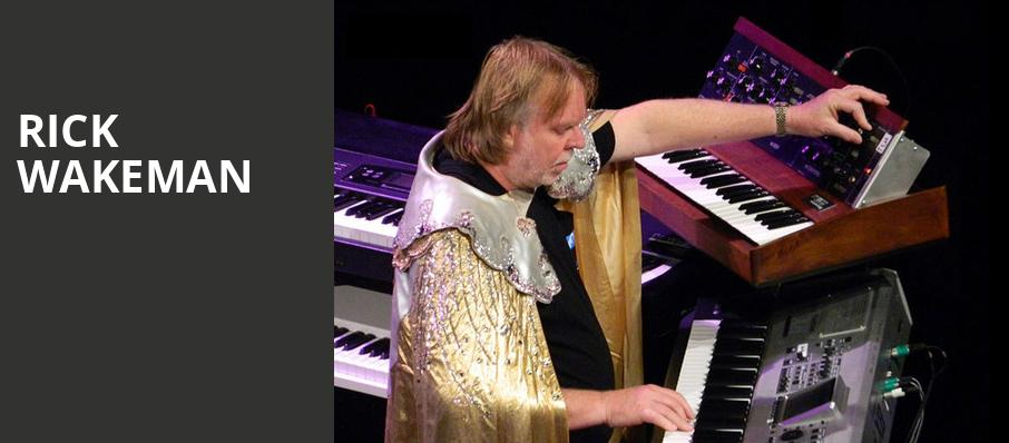 Rick Wakeman, Danforth Music Hall, Toronto