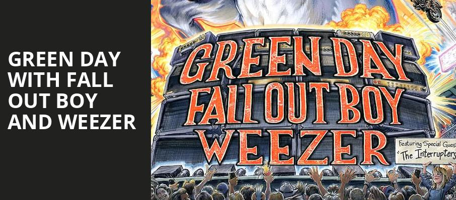 Green Day with Fall Out Boy and Weezer, Rogers Centre, Toronto