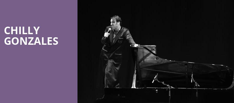 Chilly Gonzales, Roy Thomson Hall, Toronto