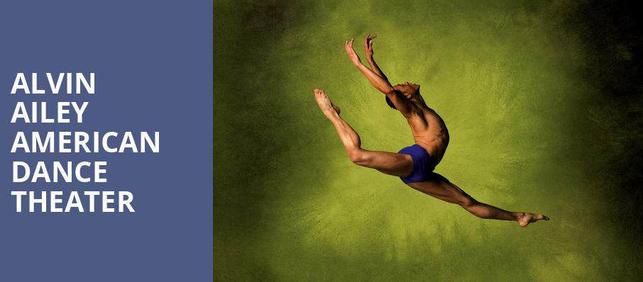 Alvin Ailey American Dance Theater, Sony Centre for the Performing Arts, Toronto