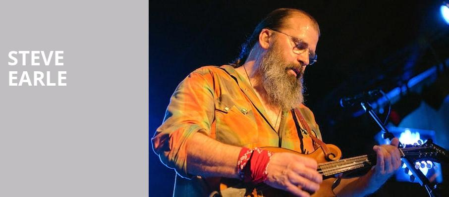 Steve Earle, Danforth Music Hall, Toronto