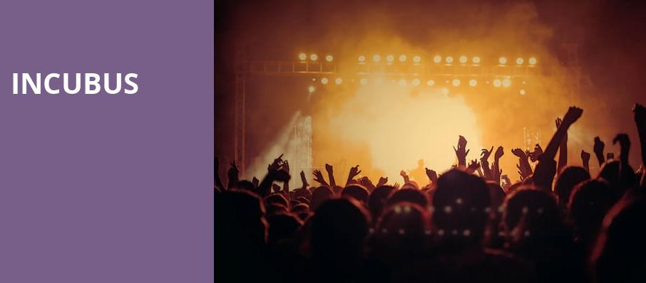 Incubus, Sony Centre for the Performing Arts, Toronto