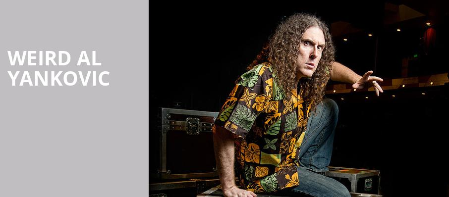 Weird Al Yankovic, Danforth Music Hall, Toronto
