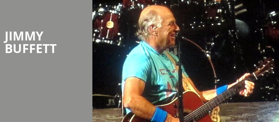 Jimmy Buffett, Budweiser Stage, Toronto