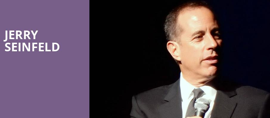 Jerry Seinfeld, Sony Centre for the Performing Arts, Toronto