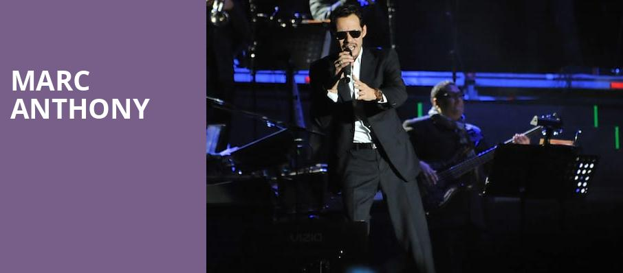 Marc Anthony, Scotiabank Arena, Toronto