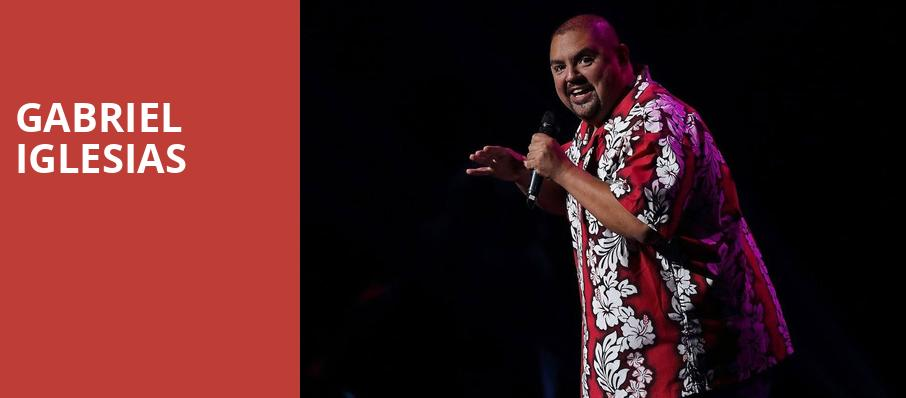 Gabriel Iglesias, Sony Centre for the Performing Arts, Toronto