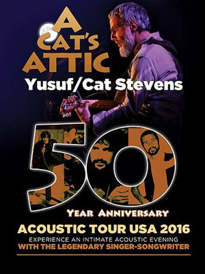 A Cats Attic Yusuf Islam Cat Stevens, Sony Centre for the Performing Arts, Toronto
